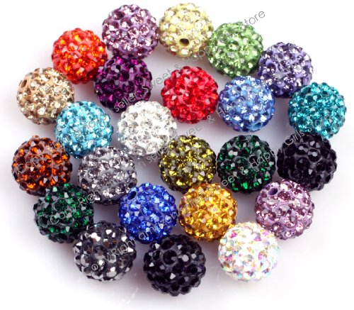 SHG Store Pave Shine 10mm Bead Set