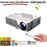 Proyector Full HD Nativo 1080P, Unicview FHD950 (1920x1080 ...