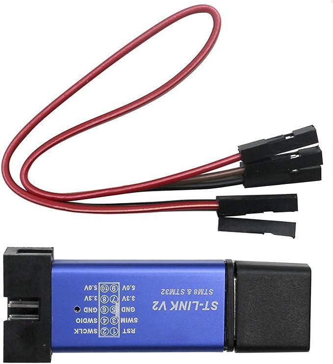 ST-Link V2 Stlink Emulator Downloader Programming Mini Unit STM8 STM32  SK