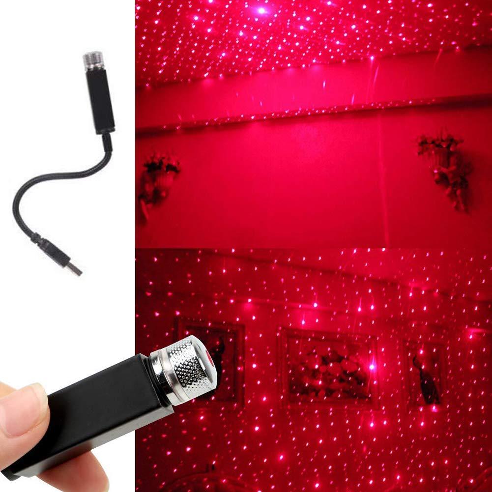 Bello Luna Proiettore a LED con luce stellare interna per auto USB per tutte le luci per decorazione a soffitto per auto luce per ambienti interni