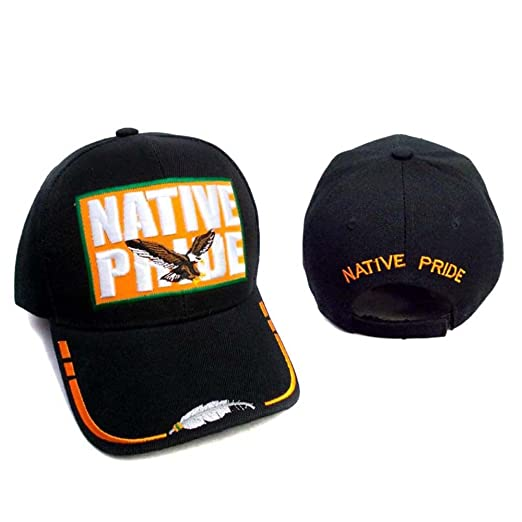 611ebc65380 Image Unavailable. Image not available for. Color  Eagle Native Pride  Baseball Caps ...