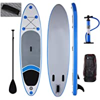Yiilove Inflatable Stand Up Paddle Board 10  iSUP Board with Adjustable  Paddle and Dual Action 63d1ce4a35