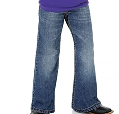 6a1db2eb Image Unavailable. Image not available for. Color: ROCK 47 by Wrangler  Girls Boot Cut Jeans ...