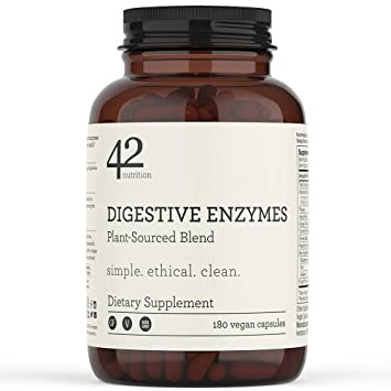 Amazon.com: 42Nutrition Digestive Enzymes Dietary Supplement ...