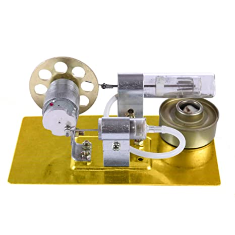 Yvsoo Motor Stirling Engine Kit con Generador Ciencias Juguetes Educativos