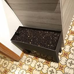 Zanvic Jardinera C/Patas Mod Rato Jh 800 C/Autorriego, Chocolate ...
