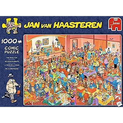 Jumbo 19072 The Magic Fair Jigsaw Puzzle 1000 Pieces, Blue: Toys & Games