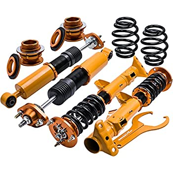 Coilovers with Non-Adjustable Damper for BMW 3 Series E36 1990 1991 1992 1993 1994 1995 1996 1997 1998 1999 2000 - Gold