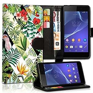 Wallet Wicostar-Funda Case Funda Carcasa diseño Funda para Huawei Y3-Diseño Flip mvd130