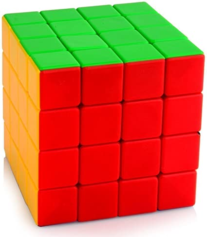 Premsons Cube High Speed Sticker-Less Problem Solving Cubes (4x4x4)