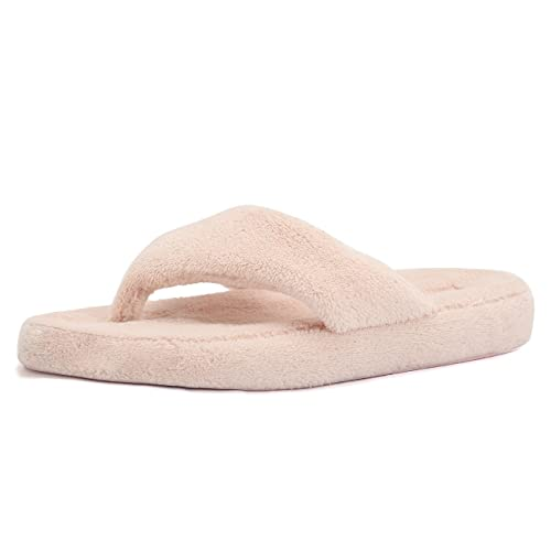 9cfd5ea4477f93 CIOR Fantiny Women s Spa Thong Slippers Flip Flops Terry House Shoes Indoor    Outdoor-U118WMT003