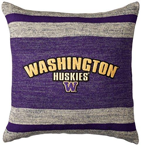Bruzer NCAA Washington Huskies Unisex Work Sock Pillowwork Sock Pillow, Purple Mix, One Size