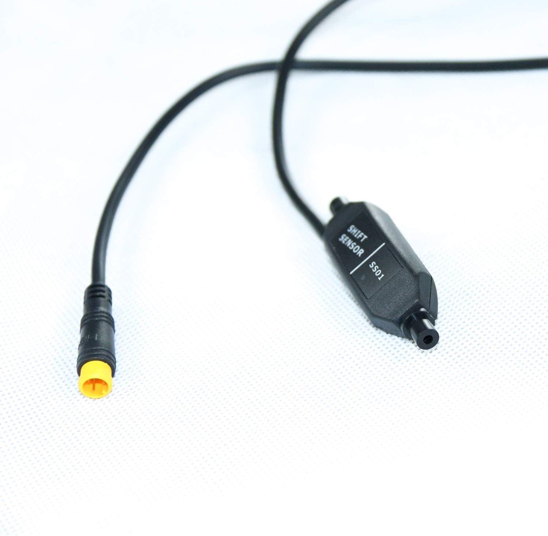Capteur de vitesse pour moteur moteur moteur de vitesse Bafang BBS01B BBS02B BBSHD Mid Drive syst/ème de changement de vitesse de frein Noir