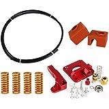 FANMURAN Extrusora de Impresora 3D Kit de Accesorios Aluminio de Impresora Boquilla de Impresión de Extrusora para 3D…