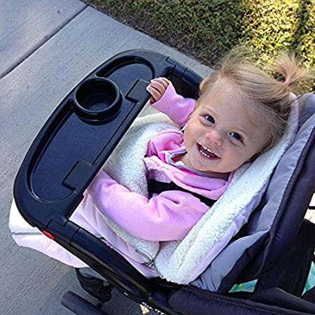 Original Bundleme Toddler Canopy Style Bunting Bag to Protect Baby from Cold and Winter Weather in Car Seats and Strollers JJ Cole Graphite
