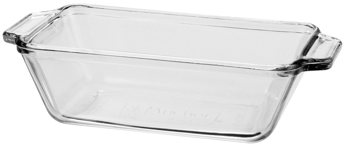 Anchor Hocking 1.5-Quart Oven Basics Loaf Dish, Set of 3