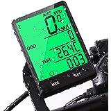 Velocimetro Cuentakilómetros para Bicicleta, Uplayteck Computadora para Bicicleta Multifunción con Odómetro, Medidor de Dista