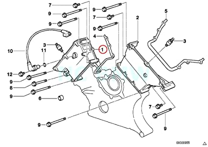 Amazon Com Genuine Bmw E31 E38 E39 Coupe Timing Case Cover Top 1 4