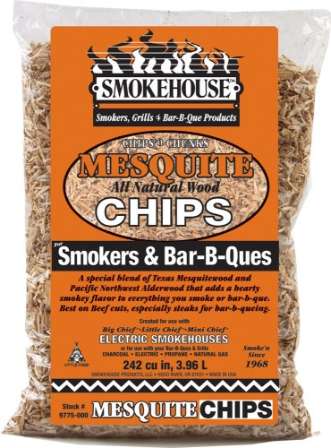 Smokehouse Products All Natural Flavored Wood Smoking Chips- Mesquite (Smoker Mesquite Chips compare prices)