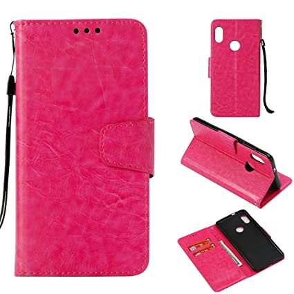 the best attitude 07345 3bfac Bangcool Xiaomi Redmi Note 5 Pro Wallet Case Full Protective Flip Cover for  Xiaomi Redmi Note 5 Pro with Lanyard Strap