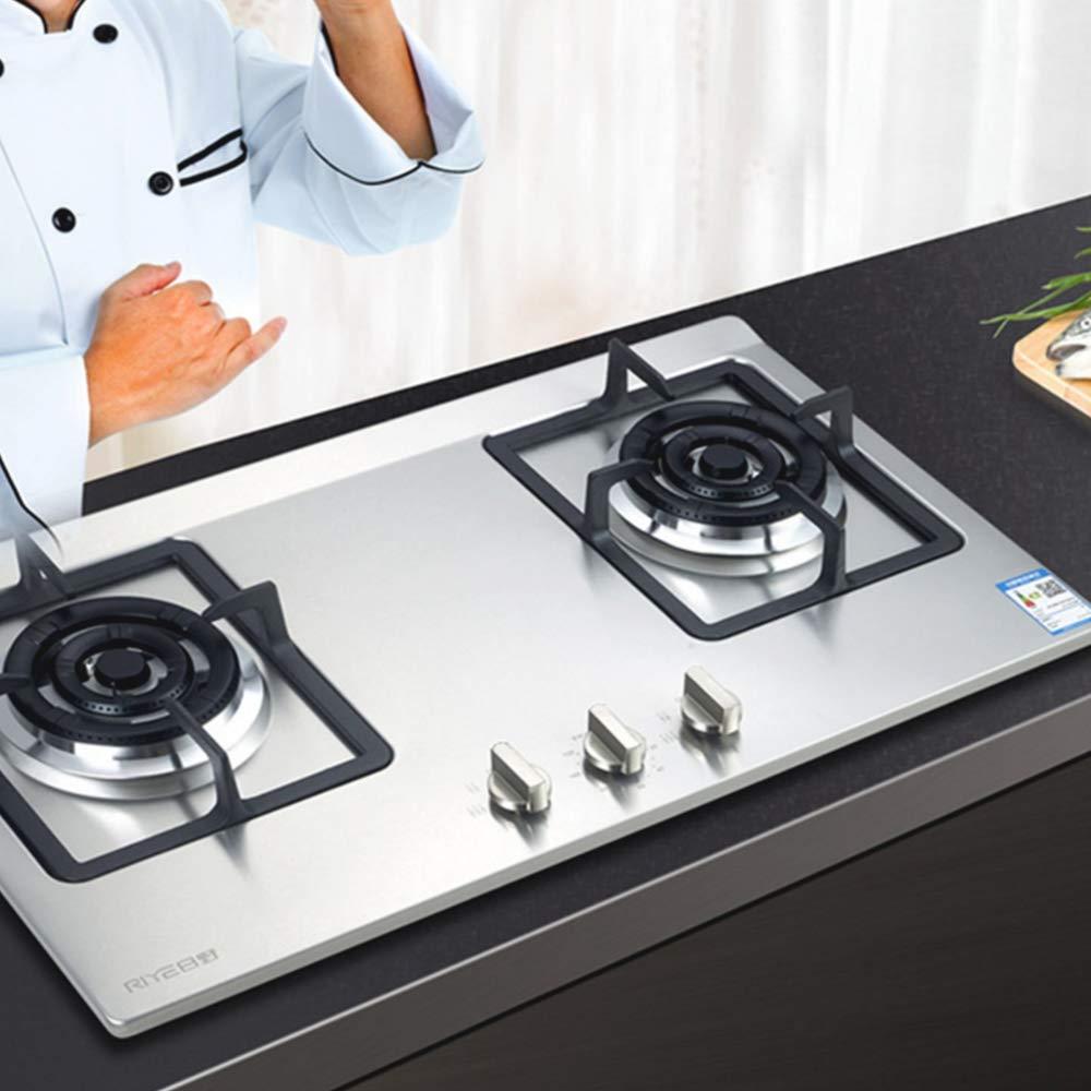 Nuluxi Universel Boutons de Po/êle Gaz M/étal Bouton Cuisini/ère /À Gaz Cuisine Po/êle Boutons Interrupteur de Commande Contr/ôle Remplacement Accessoires pour Cuisine Cuisini/ère R/échaud /À Gaz Four-4 Pi