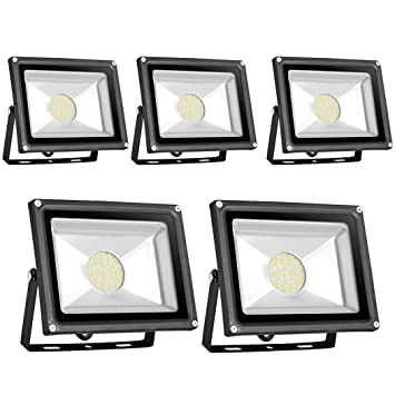PrimLight Foco Led Exterior 5X 30W,SMD Proyector Led Interior y ...