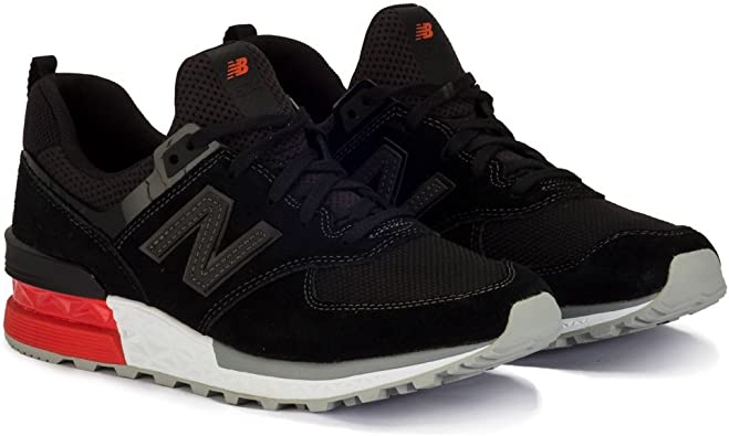New Balance 574 Negro Sport Lifestyle AB - Zapatillas: Amazon.es: Zapatos y complementos