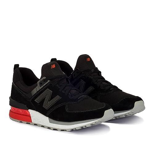 New Balance 574 Negro Sport Lifestyle AB - Zapatillas: Amazon.es: Zapatos y complementos