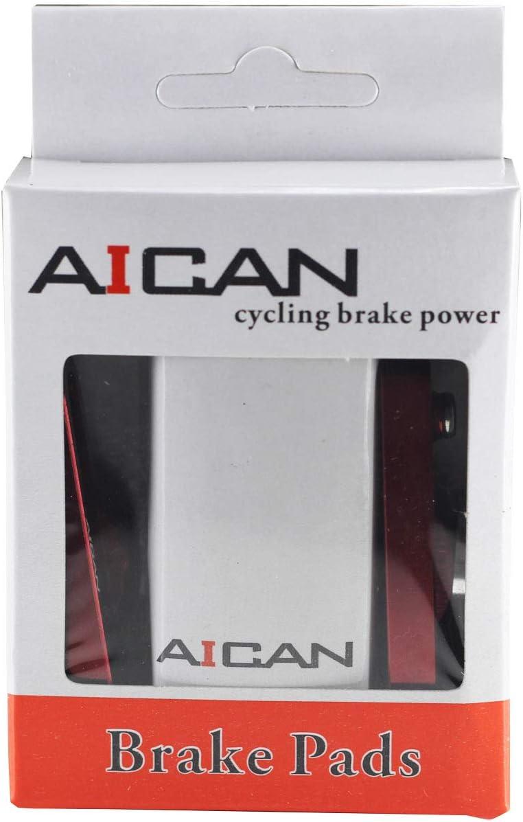 AICAN Aluminum Bike Bicycle Cycling C-Brake Pads Shoes for Shimano SRAM Black