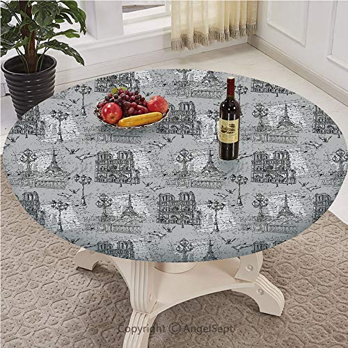 Fitted Table Cover - Personality Pattern - Large