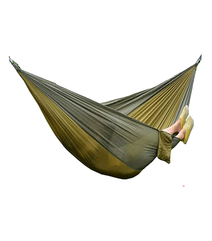 ELLEN Tragbar Parachute Nylon Stoff Reisen Camping Hängematte