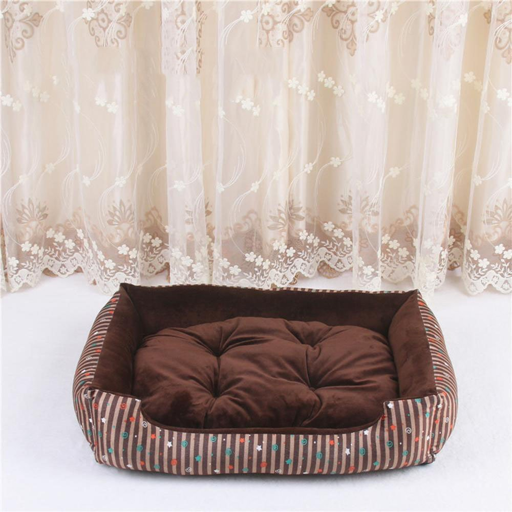 F 70x51x13cm F 70x51x13cm Daeou Pet mat Dog Bed Cushion cat Litter Small Dog pet Nest Summer Kennel