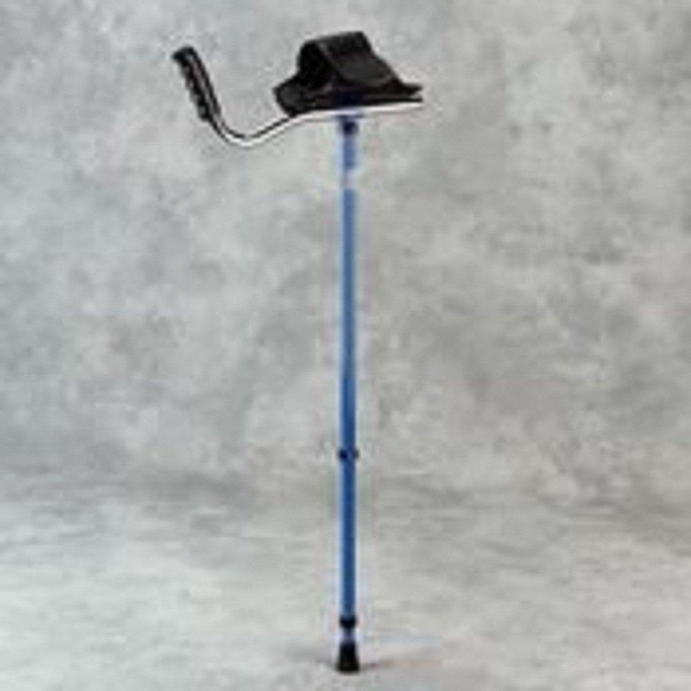 Sammons Preston Walk Easy Adult Platform Crutch (Blue )