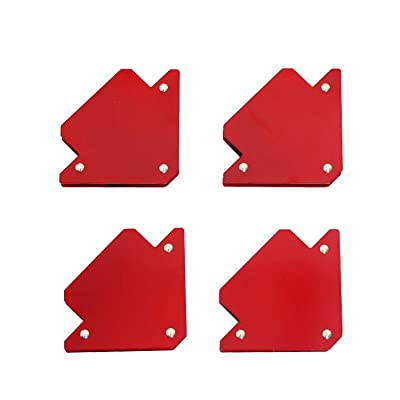 TANKSTORM Welding Magnet New Set Tig Arc Mig Magnetic Welding Square Magnetic Welding Holder 4 Pack 25 lbs Capacity(76001)