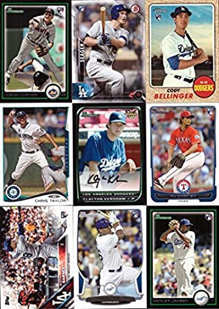 Amazoncom 2017 Dodgers Rookie Card Team Set Of 9 Bowman