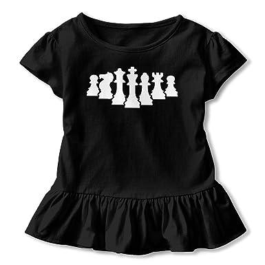 f37ef263 Amazon.com: sretinez White Chess Pieces Children's Girls Short ...