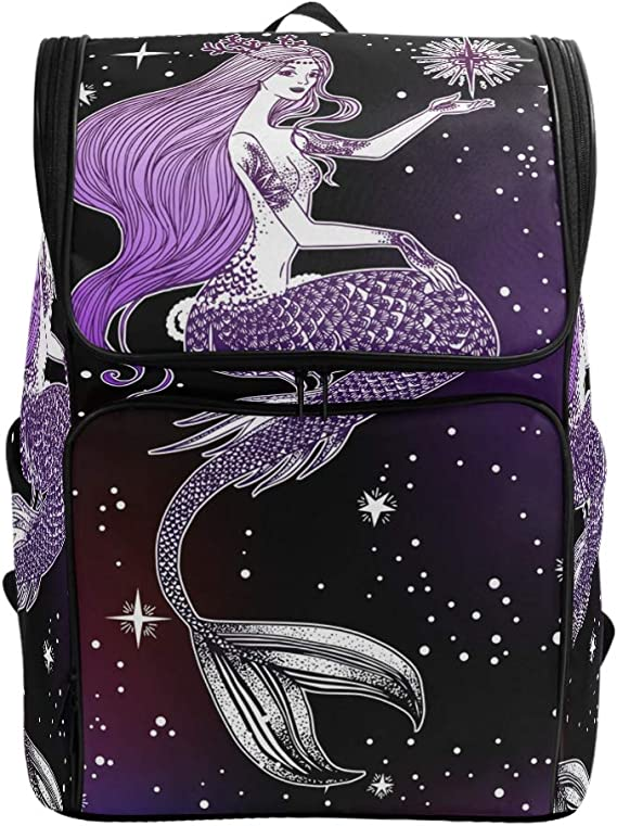 Naanle Universe Laptop Backpack Book Bag Spiral Galaxy Nebula Large 15.6 Inch Notebook Computer Bag Comfortable School College Daypack Durable Casual Travel Business Bag