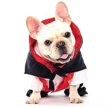 Amazon.com: dogloveit Halloween vampiro disfraces suave ...