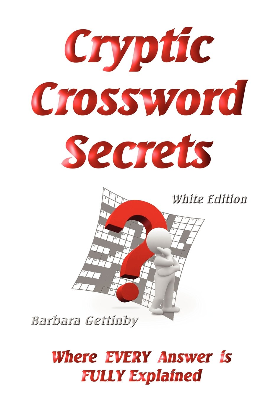 Cryptic Crossword Secrets Barbara Gettinby 9780980637243 Amazon Books