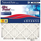 NaturalAire Ultra Protect Air Filter with Microban, MERV 8, 20 x 20 x 1-Inch, 6-Pack