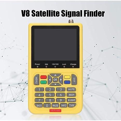 Wilderness 110-240V V8 Satellite Finder HD DVB-S Satellite Finder ...