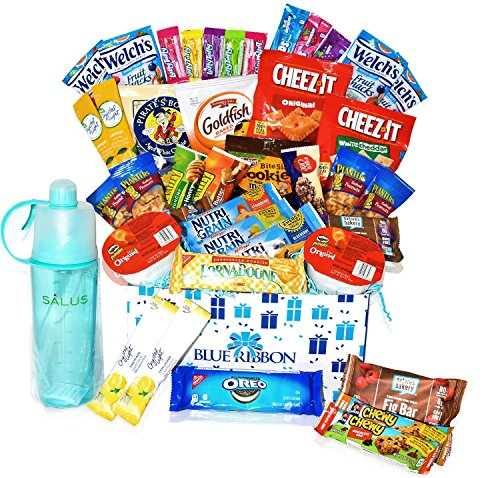Care Package for Summer Camp Gift, Military, Students , Kids, Teens, Boy, Girls by Blue Ribbon
