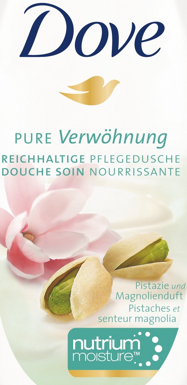 Dove - Gel de ducha Magnolia & Pistacho, pack de 3 x 250 ml: Amazon.es: Belleza