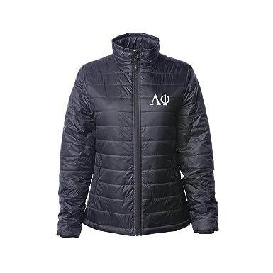 Sorority Letters Shop Alpha Phi Puffy Jacket
