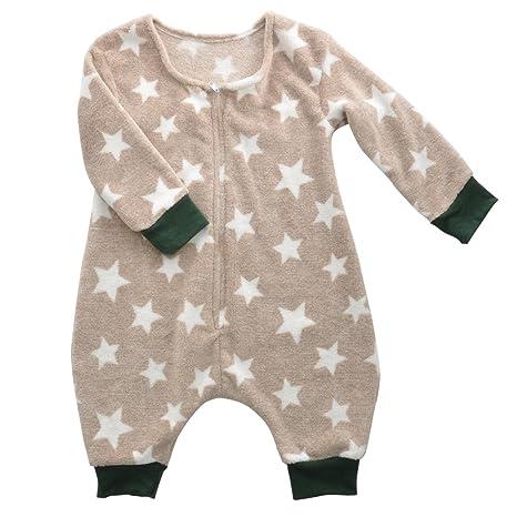 El bebé recién nacido medias de manga larga - GreForest Paño grueso ...