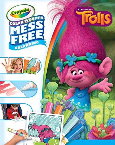 (Crayola 75-2414.0054 Trolls Colour Wonder Bumper Pack)