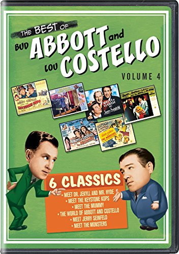 DVD : The Best of Bud Abbott and Lou Costello: Volume 4 (3 Disc)