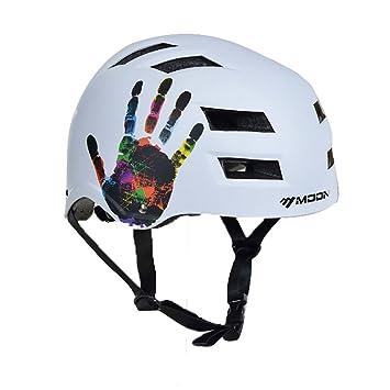 Qarape Casco de ciclismo Cascos de protección de seguridad para escalada en patinete Casco de patinete