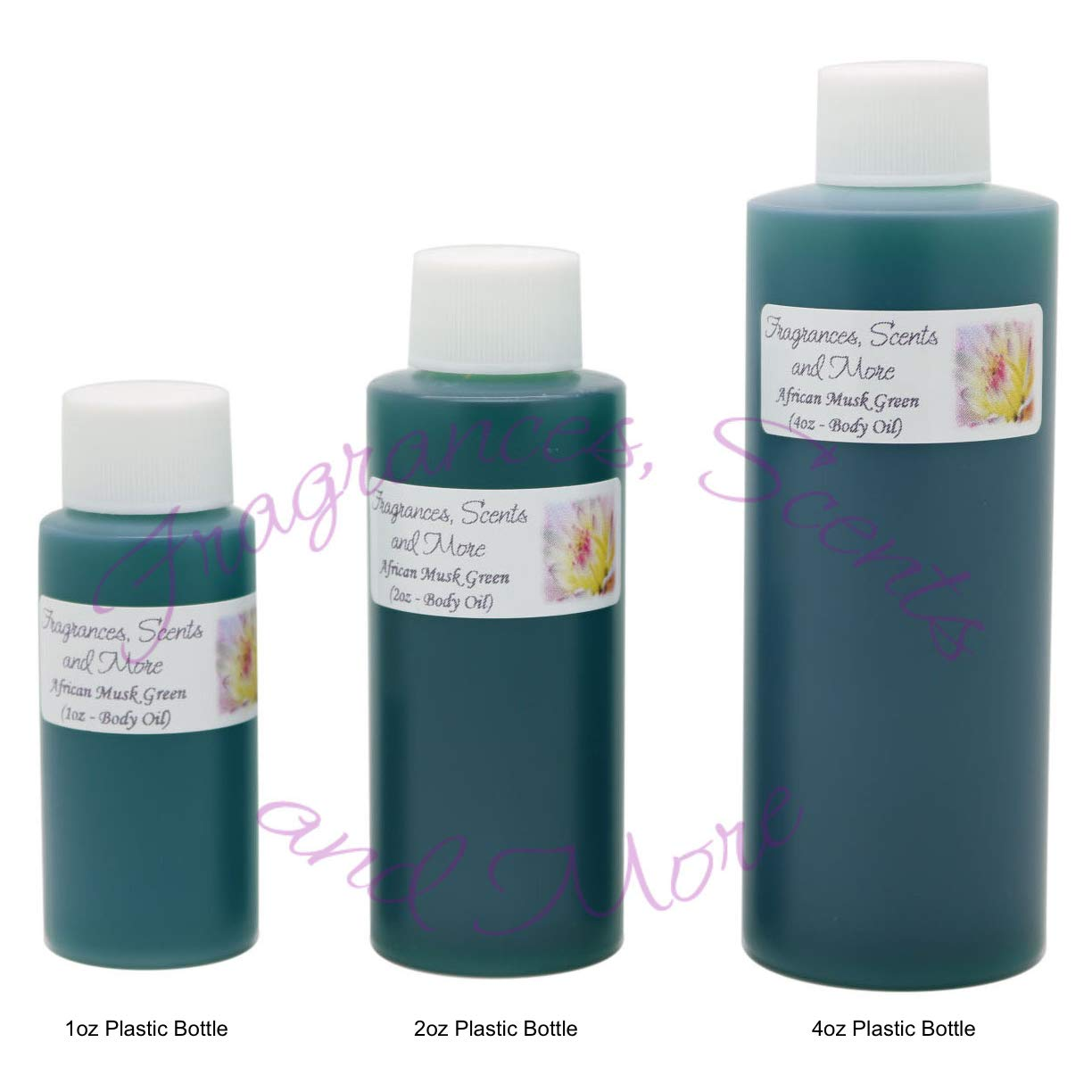 African Musk Green Perfume/Body Oil (7 Sizes) - Free Shipping (1 Bottle 1/6oz Roll On (5ml))