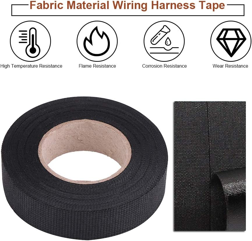 High Temperature Abrasion Resistant Wiring Harness Tape one